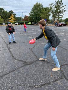 Epsilon Rho Tailgate Frisbee